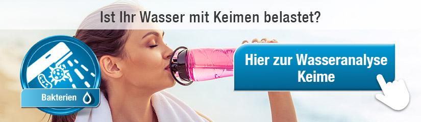 """Hier zur """"Wasseranalyse Keime""""!"""