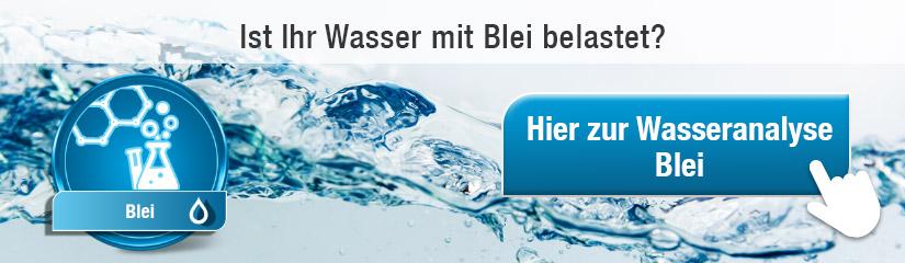 Blei Wasseranalyse