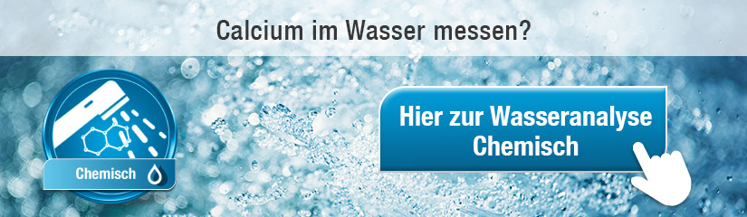 Calcium Wasseranalyse