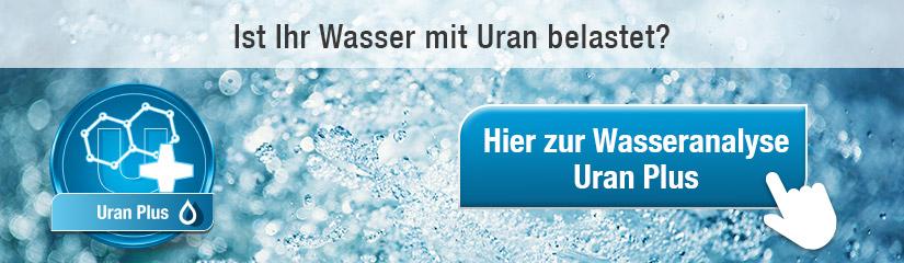 Uran Plus Wasseranalyse