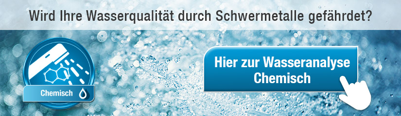 """Hier zur """"Wasseranalyse Chemisch""""!"""